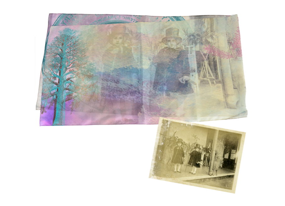 From old photos to silk scarves…