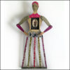 Handmade art doll - Beatrice by Gabriela Szulman