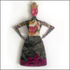 Art doll - Florence by Gabriela Szulman back view