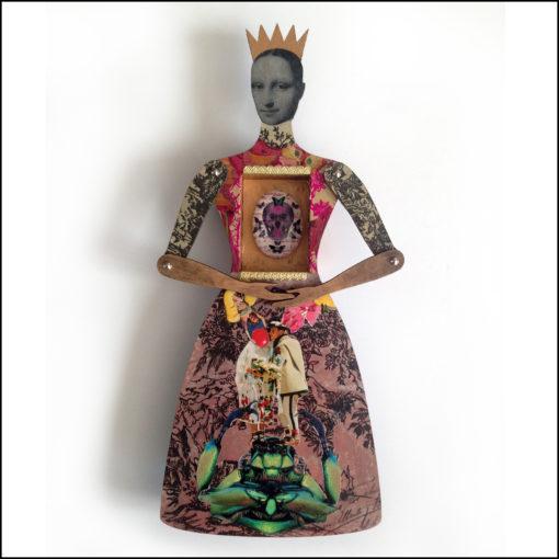 Art doll - Alma by Gabriela Szulman