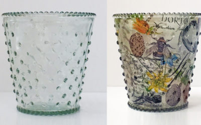 Pound shop transformations: upcycled glass