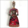 Frida Kalho art doll in red dress