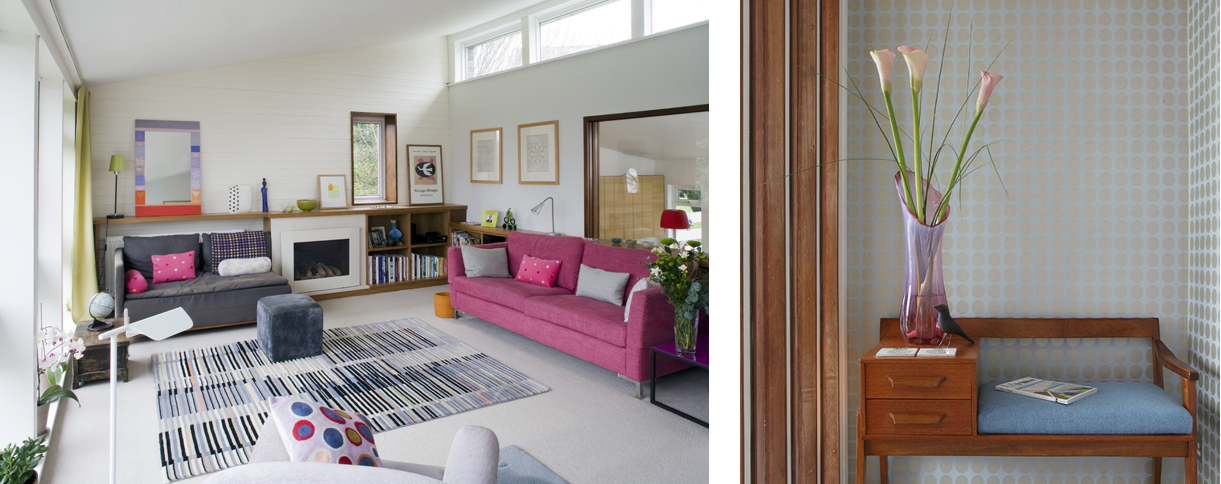 Views of Sarah hamilton's house at 49 Peckarmans Wood, Dulwich Open House 2018