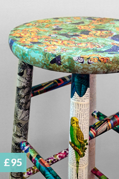 upcycle furniture with decoupage workshops