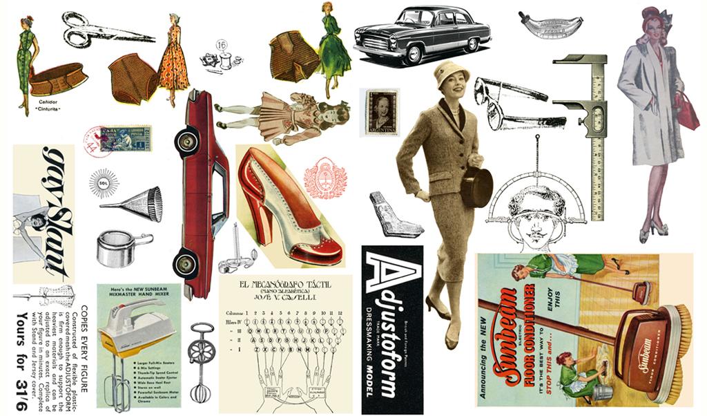 world collage day cutout page by Gabriela Szulman free download